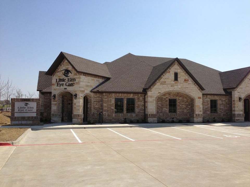 About Little Elm Eye Care. Building